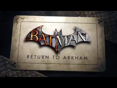 Il trailer di Batman: Return to Arkham
