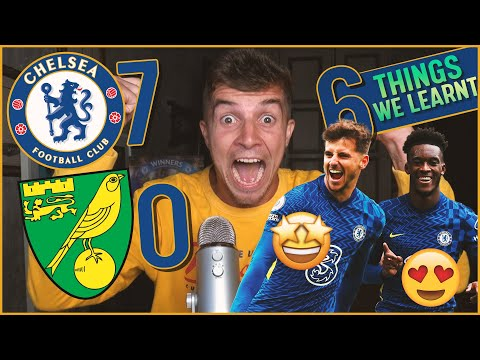 6 Things We Learnt From CHELSEA 7-0 NORWICH