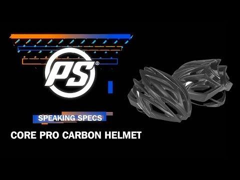 Video POWERSLIDE Casque CORE PRO CARBON Matte Black