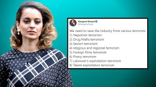 Kangana claims Bollywood should be freed from terrorists; ..