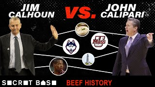 Calipari's beef with Calhoun was three decades of pettiness, stolen recruits, and trash talk