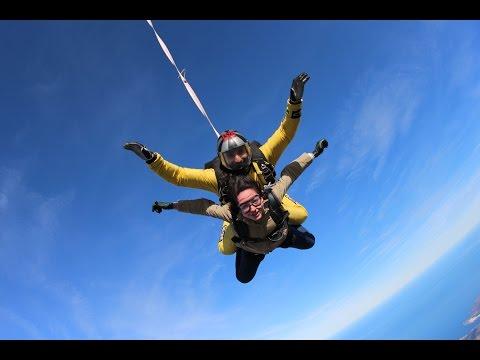 Freefall Skydiving Empuria Brava - Ana Vega