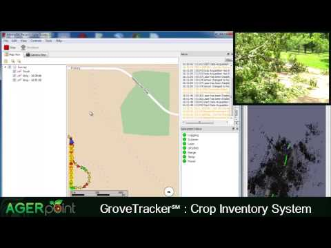 GroveTracker℠ demo video of an pecan orchard in Southwest Georgia