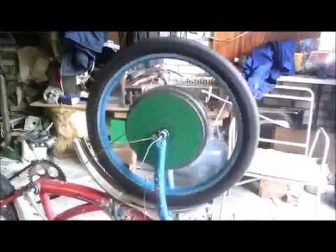 Мощный ЭлектроВелосипед из Болгарки своими руками - Hodor