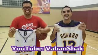 Free-Throw Shootout With My Friend, Loser Gives Away Jersey