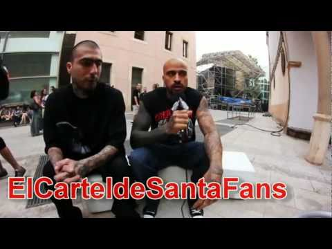 Cartel de Santa desde España