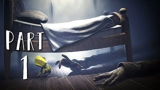 LITTLE NIGHTMARES Walkthrough Gameplay Part 1 - Six (PS4 Pro)