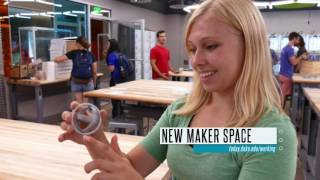 Tech Maker Space; Abele Quad Dedication: The Week at Duke in 60 Seconds  video