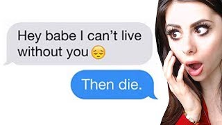 Most SAVAGE REJECTION TEXTS