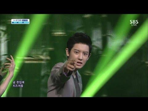 EXO (엑소) [늑대와 미녀] @SBS Inkigayo 인기가요 20130623