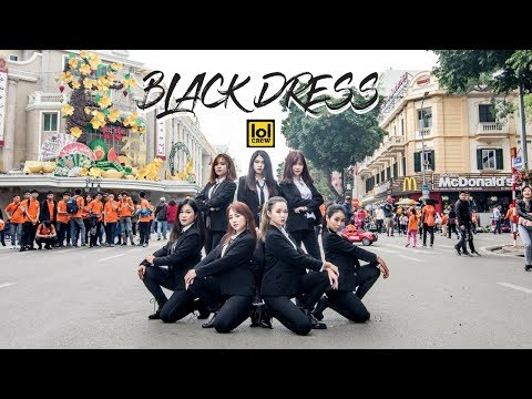 [KPOP IN PUBLIC CHALLENGE] BLACK DRESS - CLC | Dance cover by LOL CREW from Vietnam