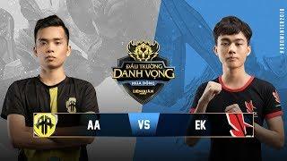 TAMAGO AA vs ESPORTS KINGDOM [Vòng 12][17.10.2018] - Đấu Trường Danh Vọng Mùa Đông 2018