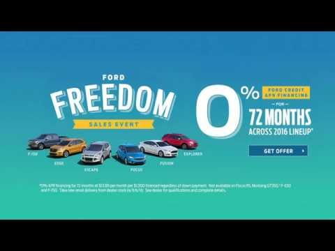 "Salinas Valley Ford - ""Ford Freedom Bonus Tags"""