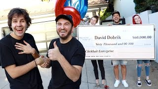 SURPRISING MY BEST FRIEND WITH $60,000!!