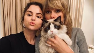 Taylor Swift and Selena Gomez being best friends for 11 minutes straight