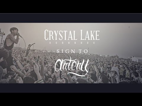 Crystal Lake sign to Artery Recordings!