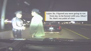 NMSP officer saves suspected drunk driver during traffic stop