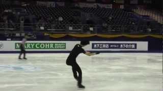 Yuzuru Hanyu World 2012.3.31 FS Practice(羽生結弦)