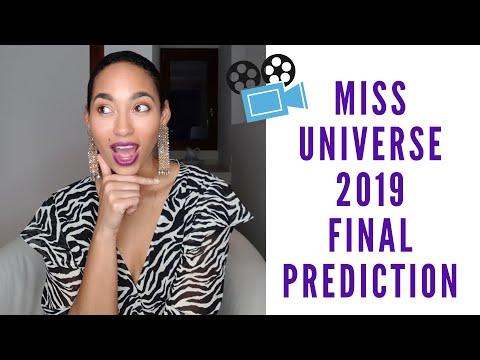 MISS UNIVERSE 2019 PRELIMINARY PREDICTIONS (TOP 20)