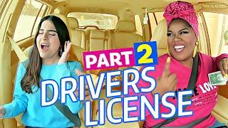 Driver's License PART 2  - Carpool Coaching w/ Vocal Coach