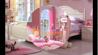 Giường ngủ công chúa tại siêu thị nội thất Hoàng Gia