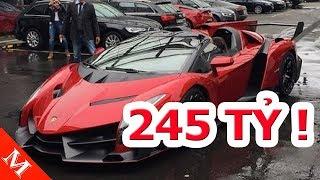 245 TỶ Nếu Về VN,  Lamborghini Veneno Lên Xe Tải Đưa Đến Khách Hàng Khó Thế Nào