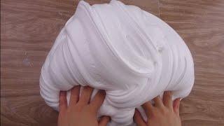 ♡ How to Make  GIANT FLUFFY SLIME! ♡  DIY Stretchy Big Fluffy Soft Serve Slime!