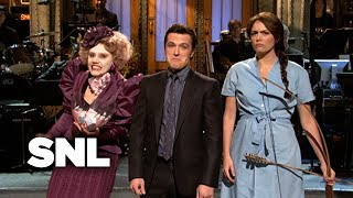 Hunger Games Monologue - Saturday Night Live