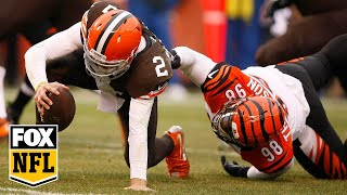 Johnny Manziel's First NFL Start Was Terrible - FOX NFL Sunday Breaks It Down