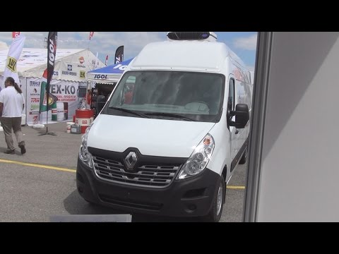 Renault Master dCi 125 Refrigerated Panel Van (2016) Exterior and Interior in 3D