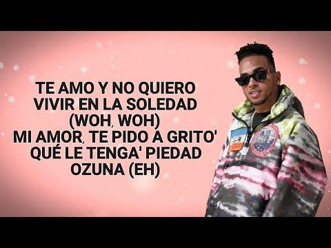 Ozuna - Amor Genuino (Letra) 4K