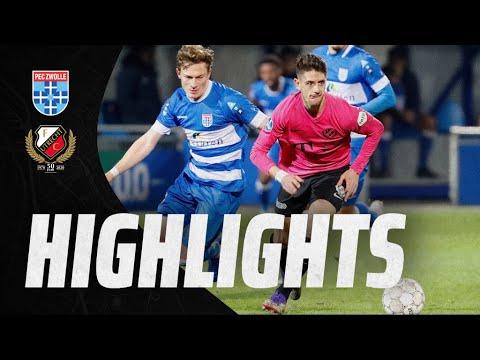 HIGHLIGHTS   FC Utrecht en PEC Zwolle in balans