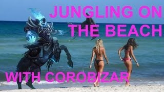 video When I jungle on the beach...