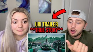 URI Official Trailer Reaction | Indian TRUE STORY!