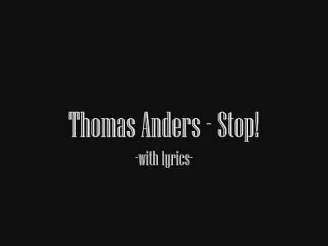 Thomas Anders - Stop! (Strong 2010) with lyrics video