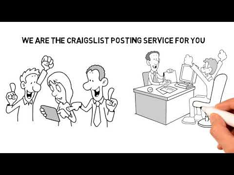 Us Craigslist Posting Service
