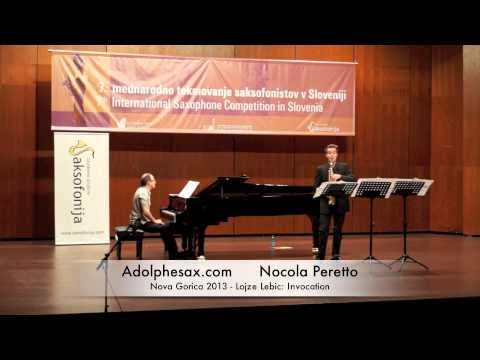 Nicola Peretto - Nova Gorica 2013 - Lojze Lebic: Invocation
