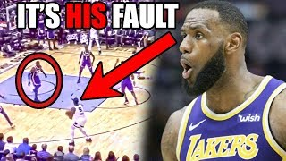 The REAL Reason Why LeBron James Is HURTING The Lakers (Ft. The LeBron Problem & Bad NBA Defense)