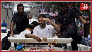 Rahul Gandhi's Massive Roadshow Begins In Bhopal | Live Updates
