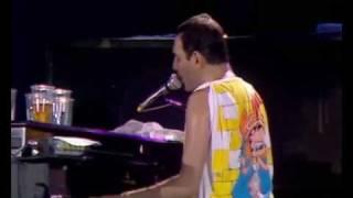 Queen -  Bohemian Rhapsody (Live At Wembley Stadium 1986)