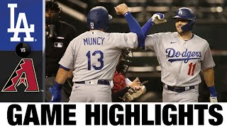 Dodgers smash three home runs in 6-3 win   Dodgers-D-backs Game Highlights 7/30/20