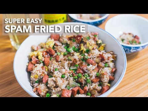 SPAM FRIED RICE - DUDE COOKS!