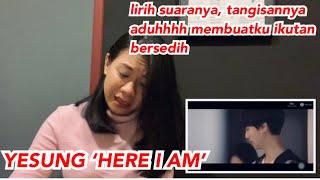 Yesung (super junior) 'Here I Am' MV | vocal coach reaction