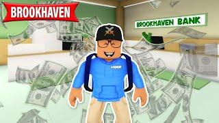 Ich bin BÄNKER und DAS PASSIERT.. in Brookhaven Story Roblox Deutsch
