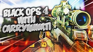BLACK OPS 4 WITH CARRYMINATI || PS4 LIVE GAMEPLAY