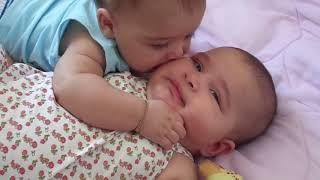 Amor de Irmão Gêmeos Victor e Victória