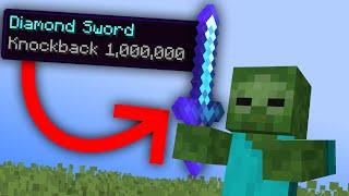 Minecraft, But Every Mob Has Knockback 1,000,000...