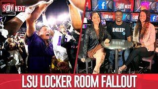 SFY NEXT crew weighs on LSU locker room fallout after coach's fiery speech | SFY NEXT