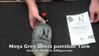 Баллон Ninja CF 68/4500 + Регулятор Pro V2 Grey