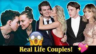Real Life Couples of Stranger Things!